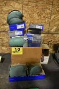 LARGE QTY OF SANDING PADS & ABRASIVES