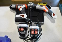 BLACK & DECKER MODEL VPX301, VPX1212 CORDLESS DRILL DRIVER WITH BATTERIES & CHARGERS