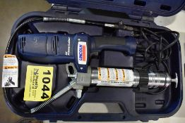 LINCOLN AC POWER LUBER ELECTRIC GREASE GUN WITH CASE