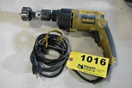 """DEWALT MODEL DW511 1/2"""" VARIABLE SPEED HAMMER DRILL"""