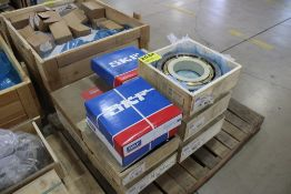 (1) ASSORTED SKF AND MRC BEARING ON PALLET