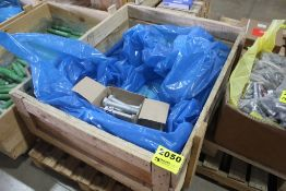 (11) CASES OF LARGE GALVANIZED BOLTS, M27 X 180