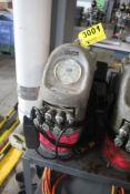 HYTORC MODEL QAS 115 B HYDRAULIC PUMP POWER PACK, PENDANT CONTROL