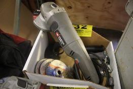 """PORTER CABLE 4-1/2"""" RIGHT ANGLE GRINDER"""
