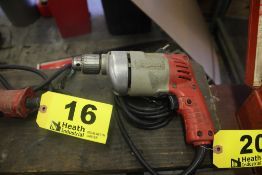 """MILWAUKEE 3/8"""" ELECTRIC HOLE SHOOTER DRILL"""