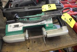 GREENLEE MODEL 530 2 SPEED PORTABLE BAND SAW