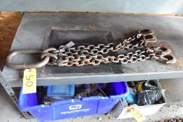 CERTIFIED 4-LEG LIFTING CHAIN WITH HOOKS