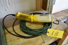 DROP LIGHT WITH EXTENSION CORD
