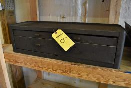 """28"""" X 9"""" X 8"""" TWO DRAER STACK-ON TOOL BOX"""