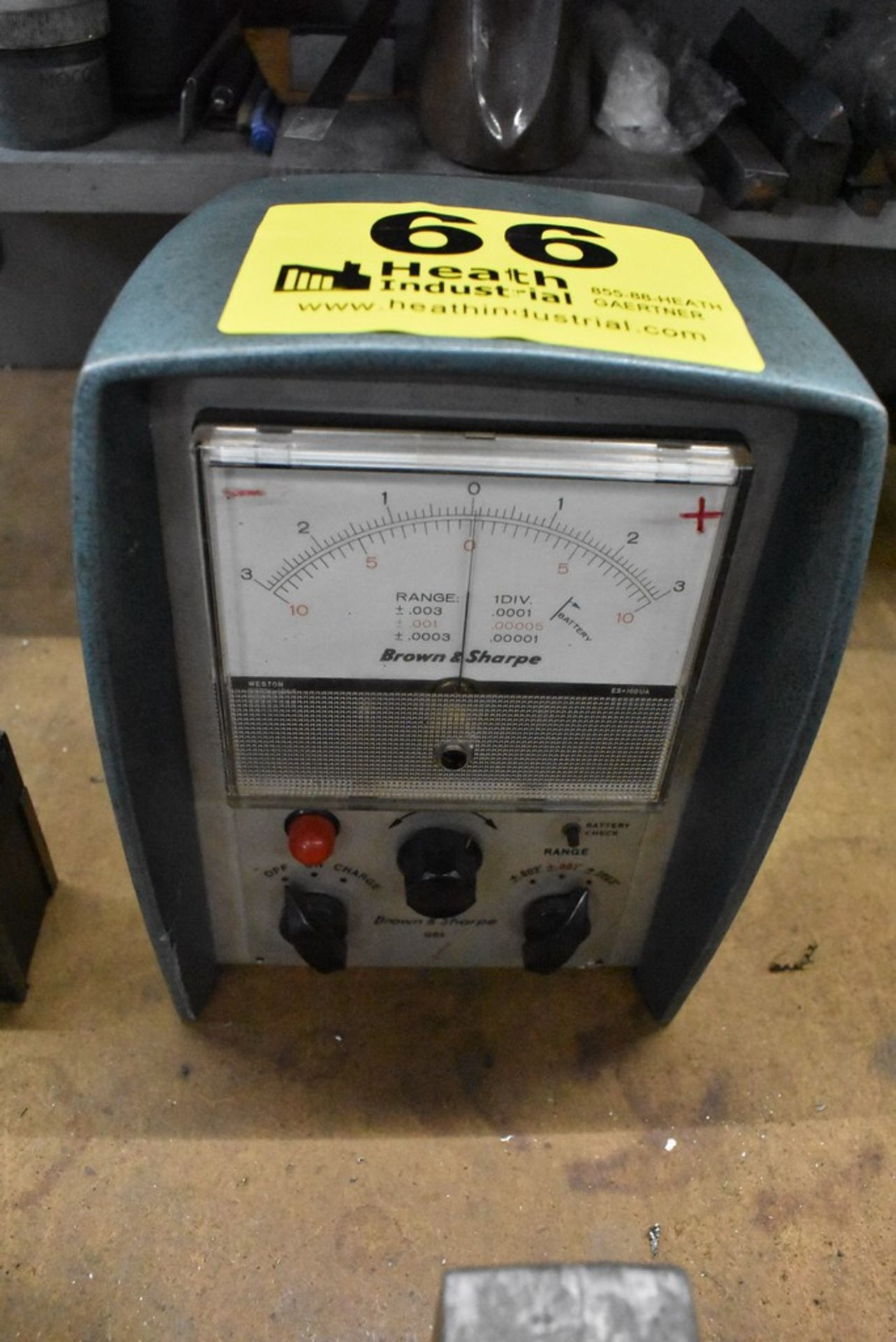 BROWN & SHARPE NO. 96L TEST GAGE
