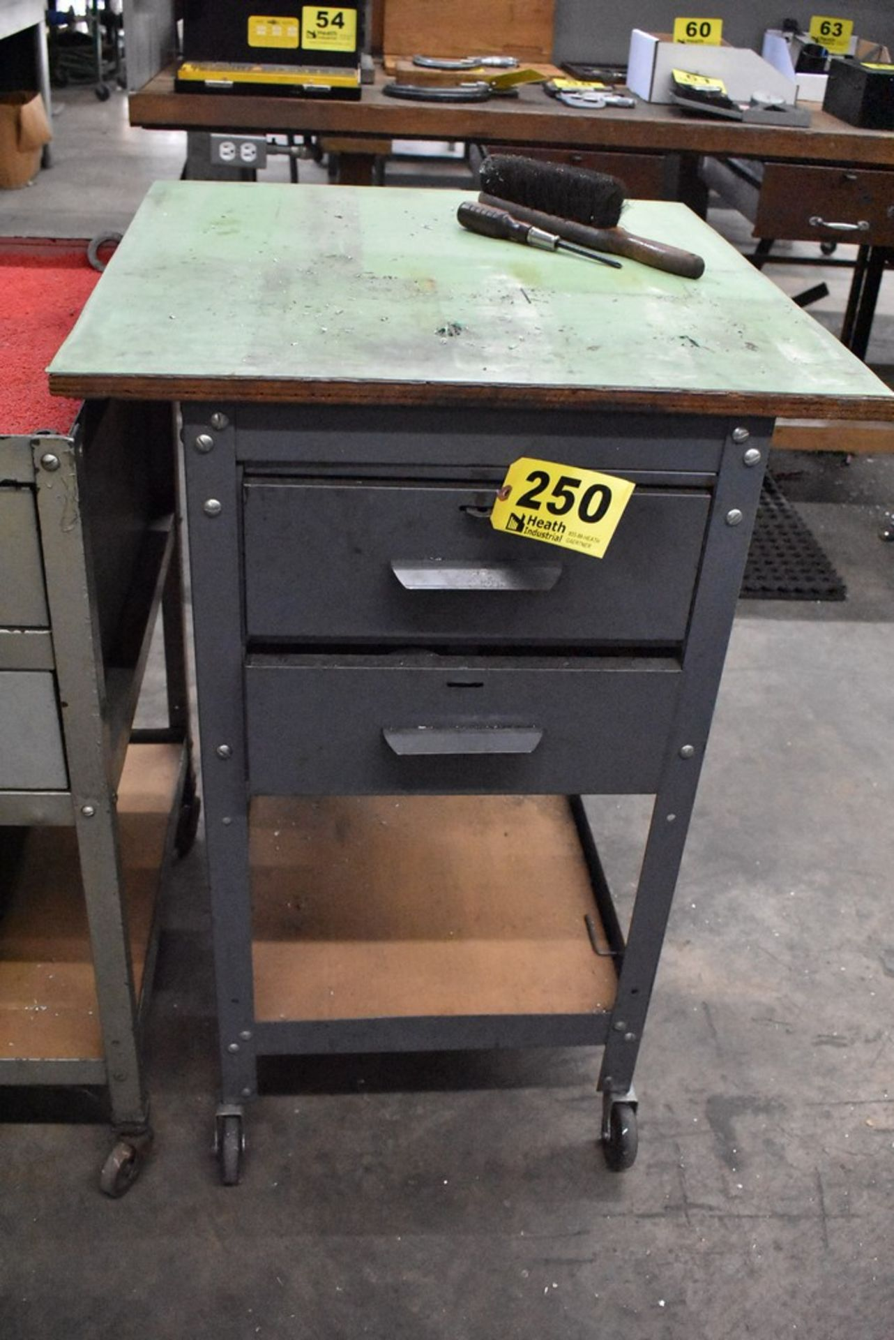 """24"""" X 18"""" X 36"""" PORTABEL SHOP CART WITH DRAWERS"""