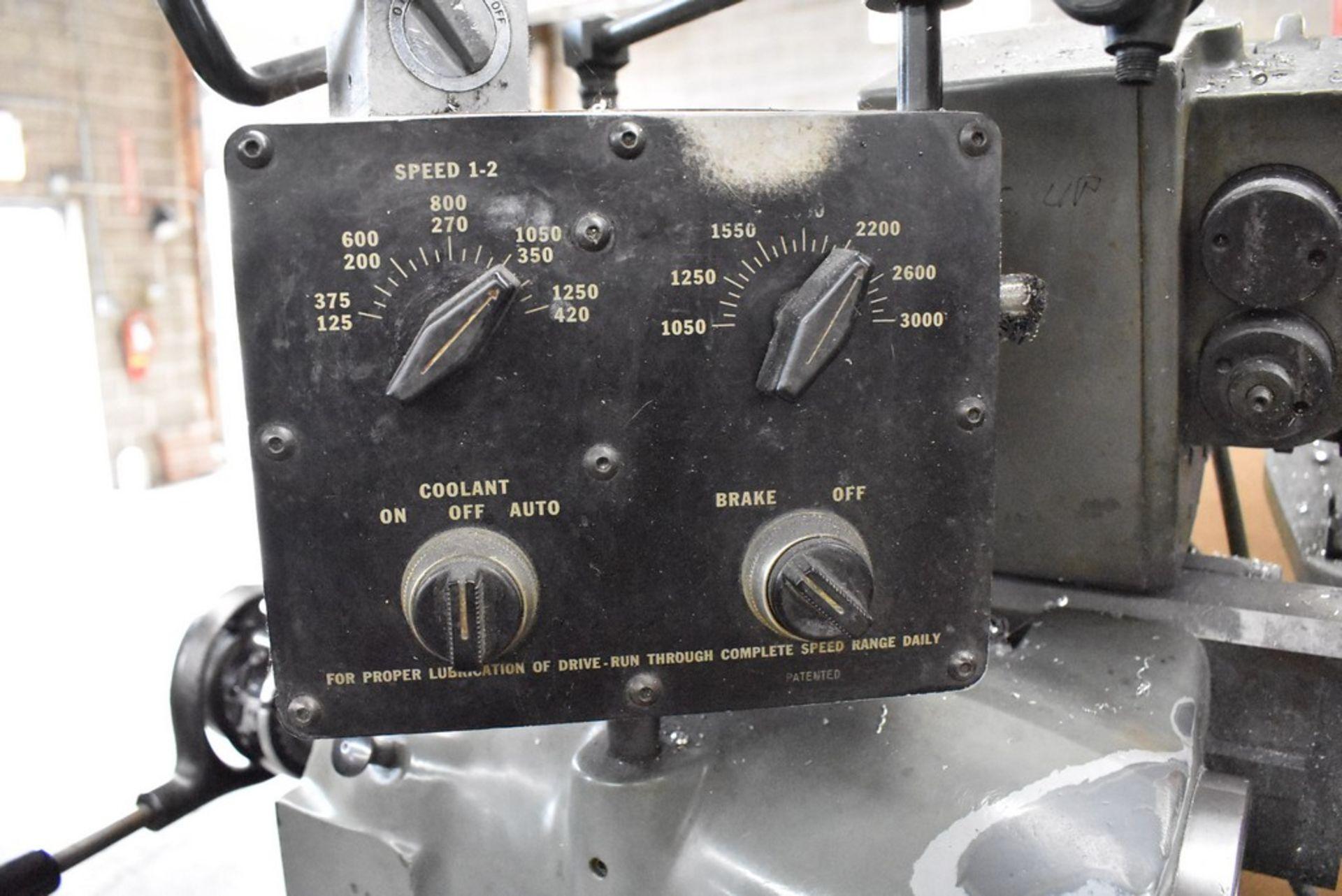 HARDINGE LATHE HCAT CABINET BASE LEADSCREW THREADING CHUCKER, S/N HC-2699G, WITH LEADSCREW THREADING - Image 19 of 25