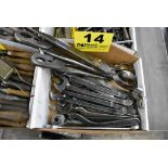 ASSORTED WRENCHES, PLIERS & SCISSORS