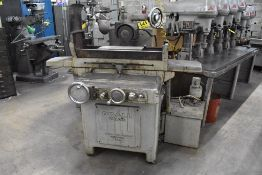 """DOALL GRINDER 6""""X18"""" HYDRAULIC SURFACE, S/N 42475, WITH PERMANENT MAGNETIC CHUCK, COOLANT PUMP &"""