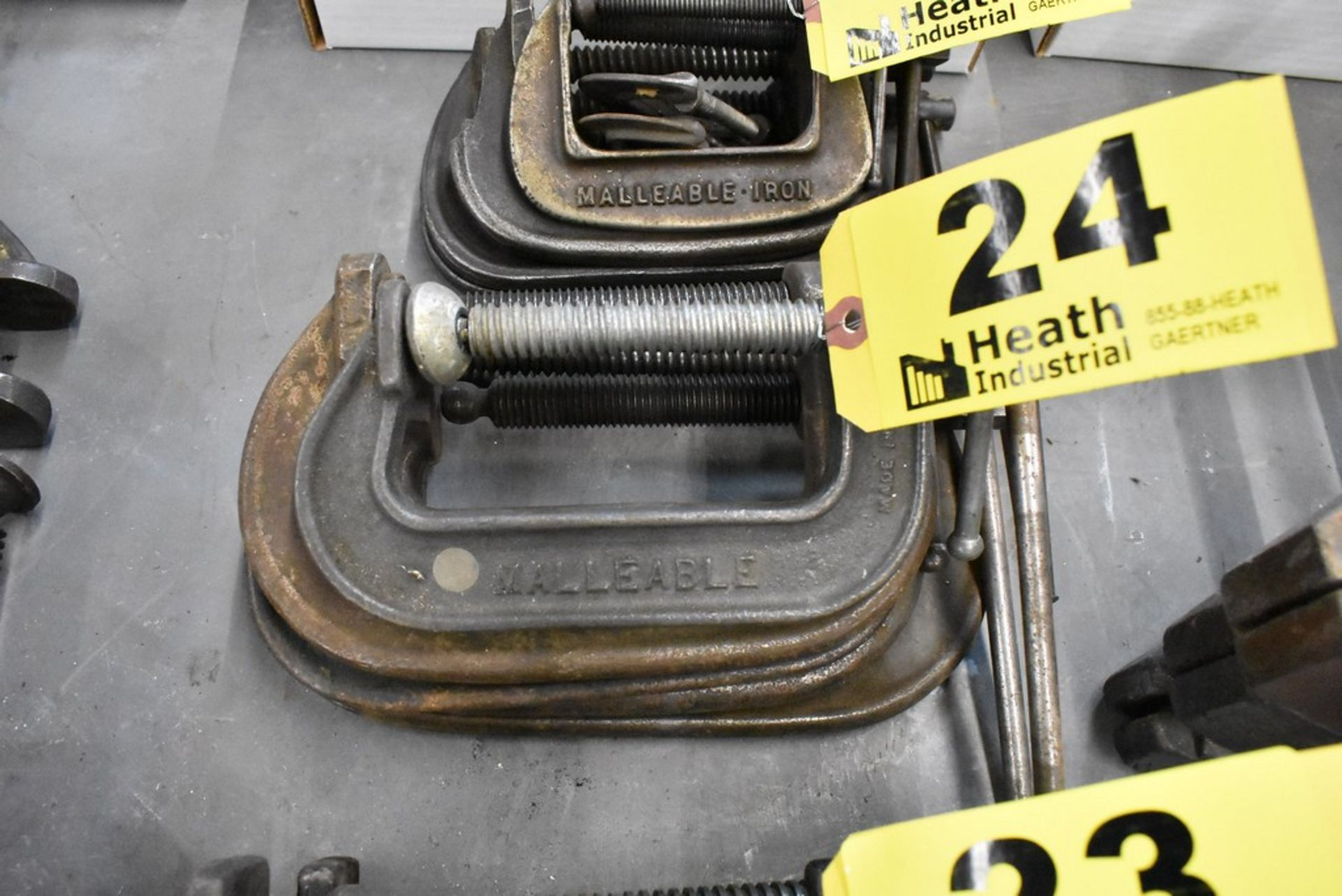 (4) C-CLAMPS - Image 2 of 2