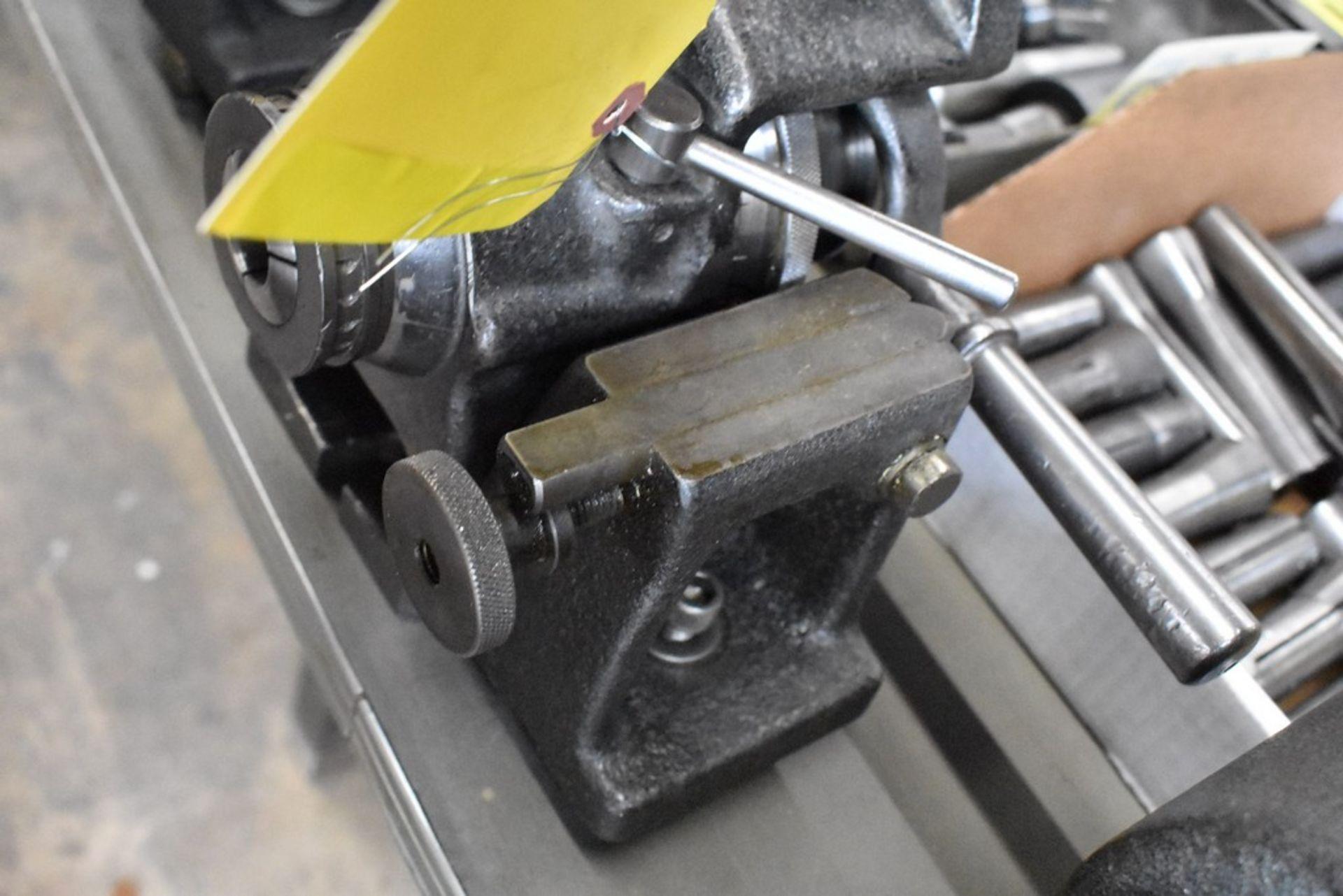 HARDINGE NO. HV-4 5C INDEXER WITH TAIL STOCK - Image 2 of 2