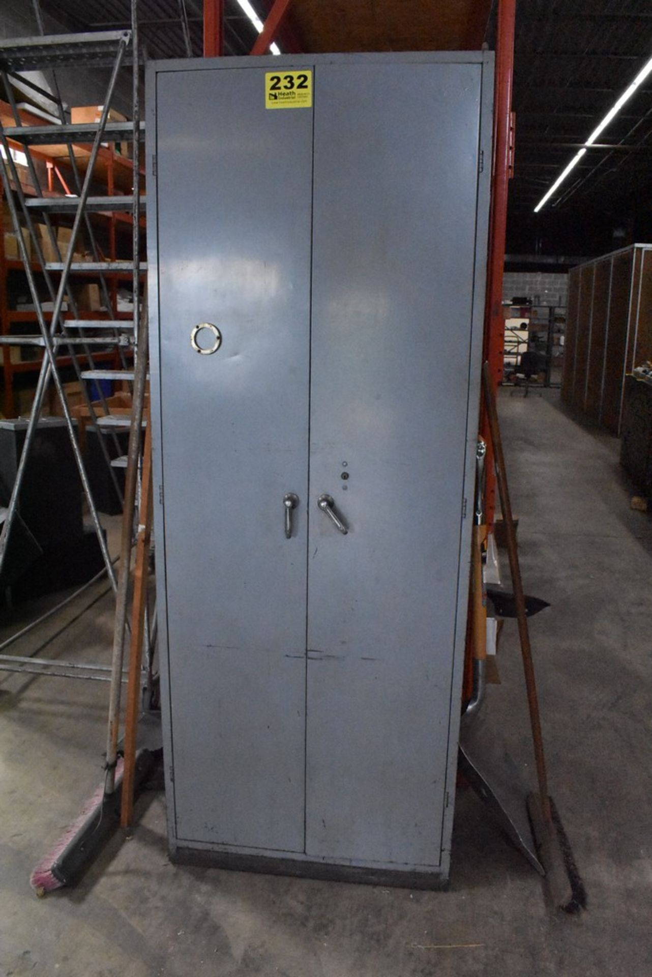 DOALL BAND SAW SUPPY CABINET WITH BLADES