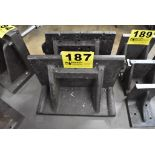 (2) ASSORTED RIGHT ANGLE PLATES