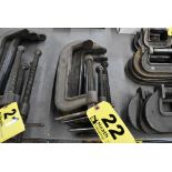 (4) C-CLAMPS