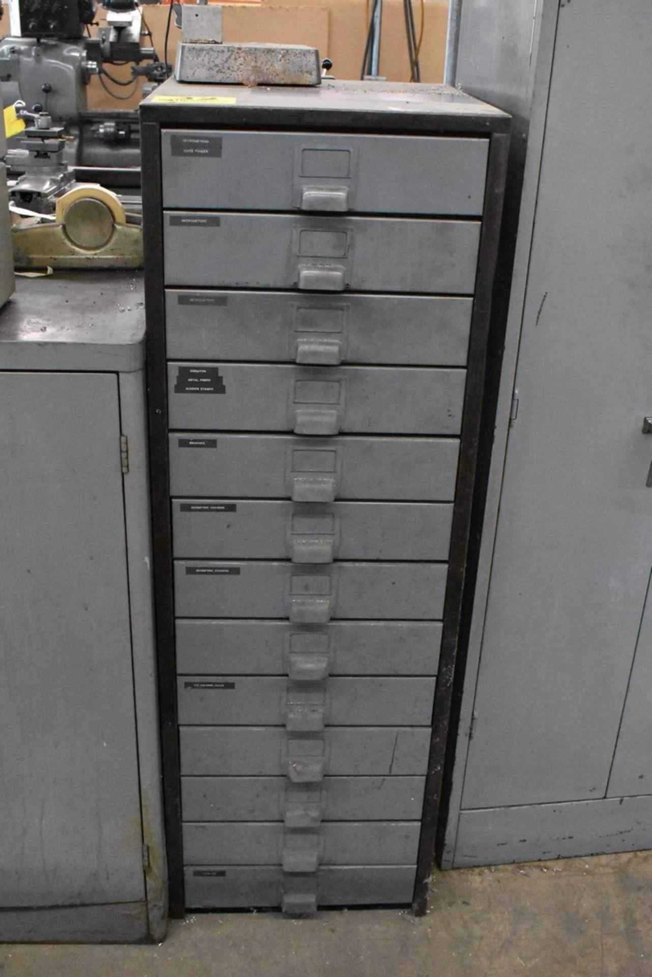 HOBART 15 DRAWER STEEL TOOL CABINET