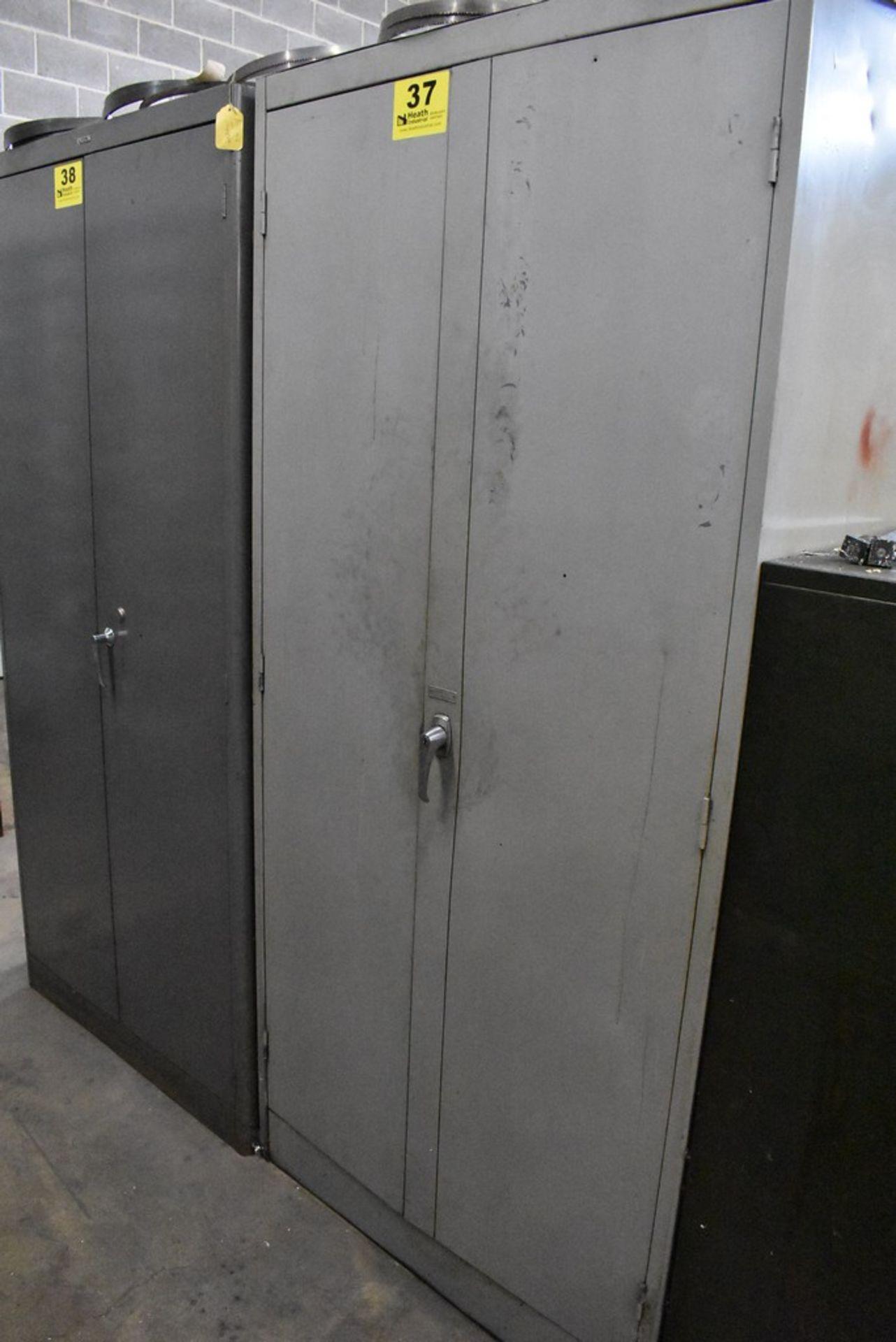 HOBART THIRTEEN DRAWER STEEL TOOL CABINET