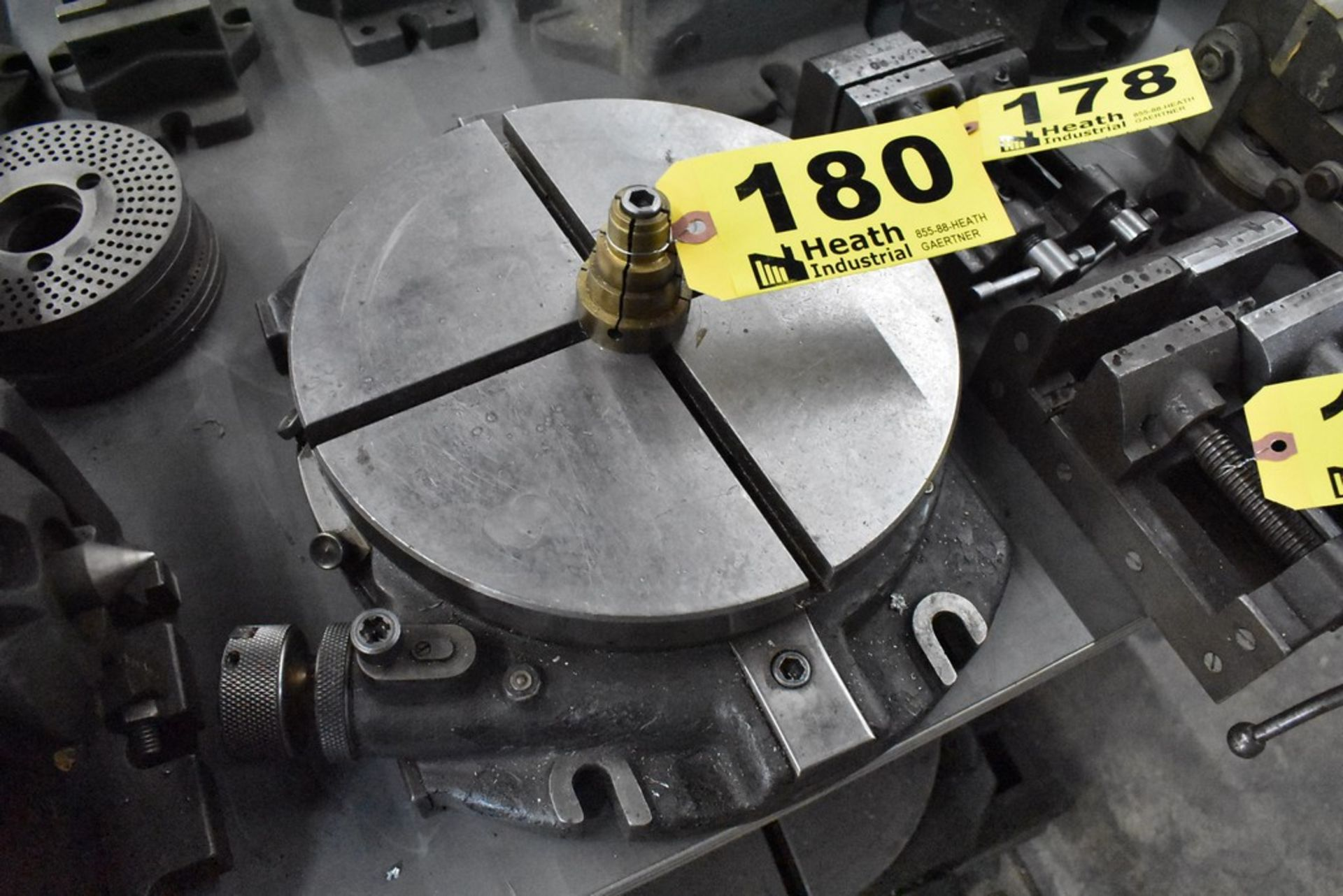 """MOORE 10"""" ROTARY TABLE, S/N 217"""