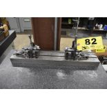 """20"""" T-SLOTTED BENCH CENTER WITH BROWN & SHARPE V-BLOCKS"""