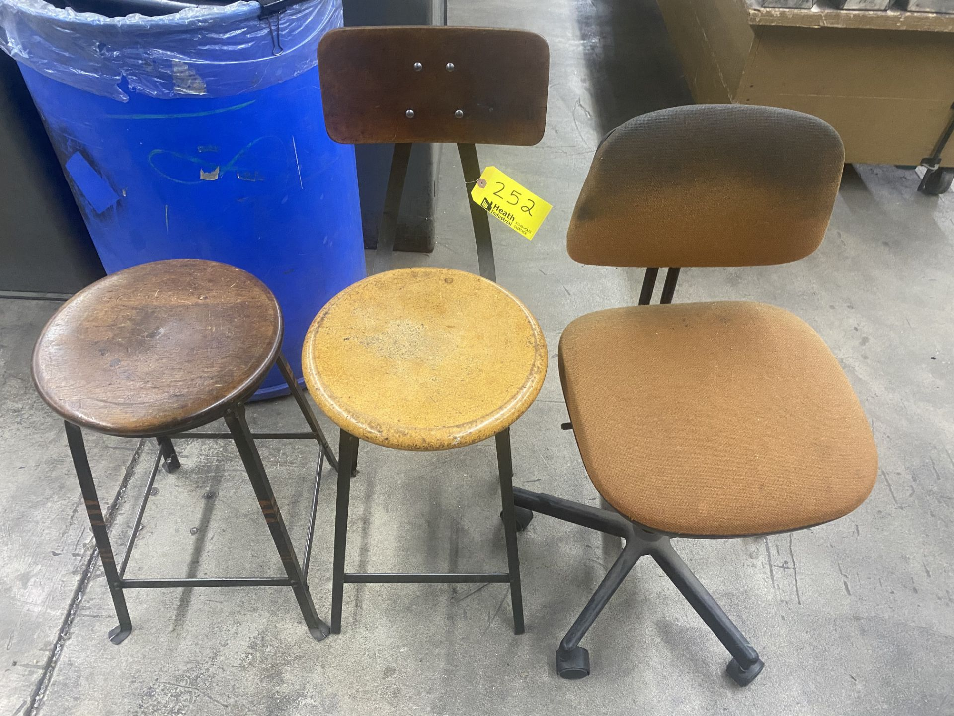 (3) ASSORTED CHAIRS