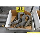 ASSORTED C-CLAMPS