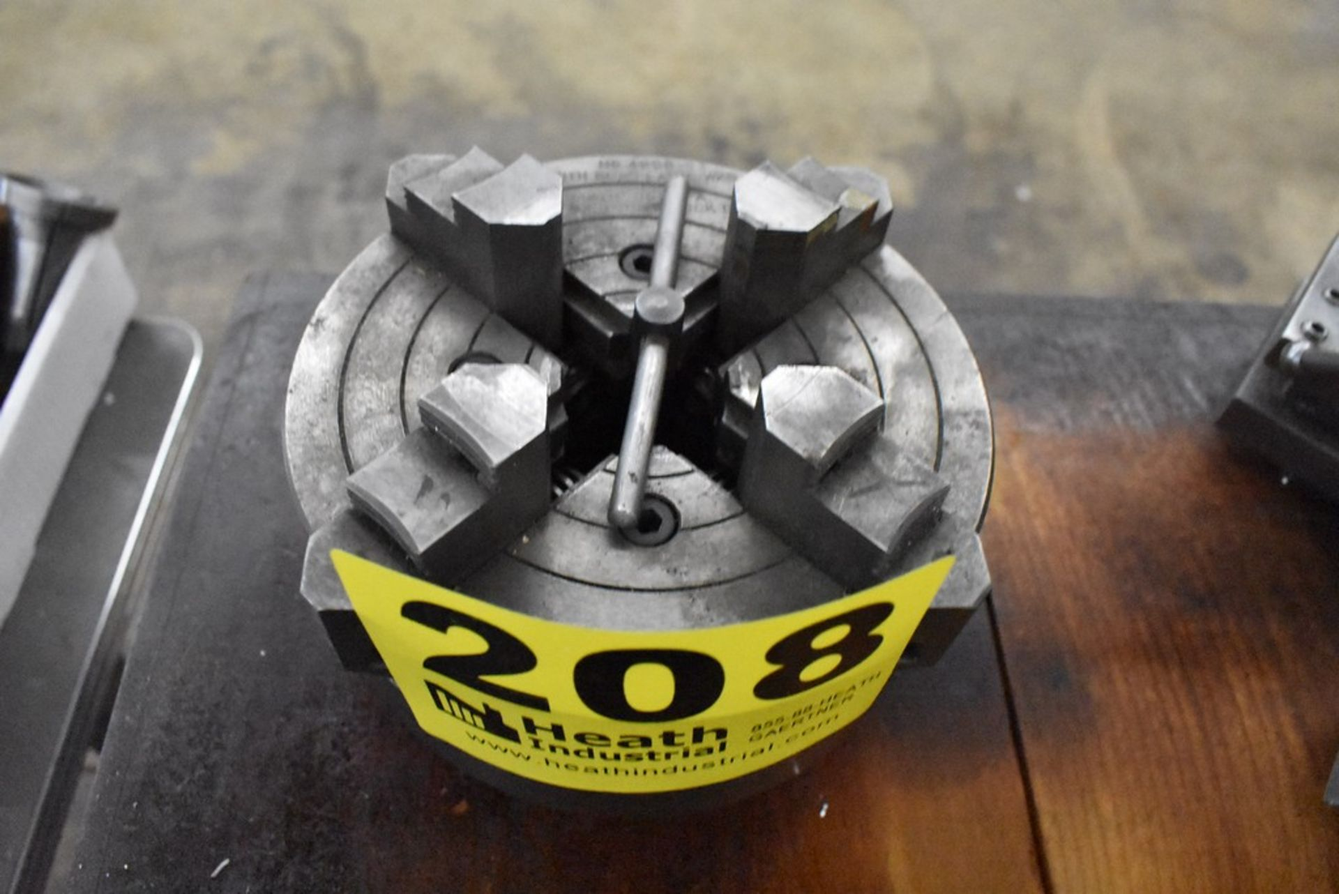 """SOUTH BEND 6"""" 4-JAW CHUCK"""