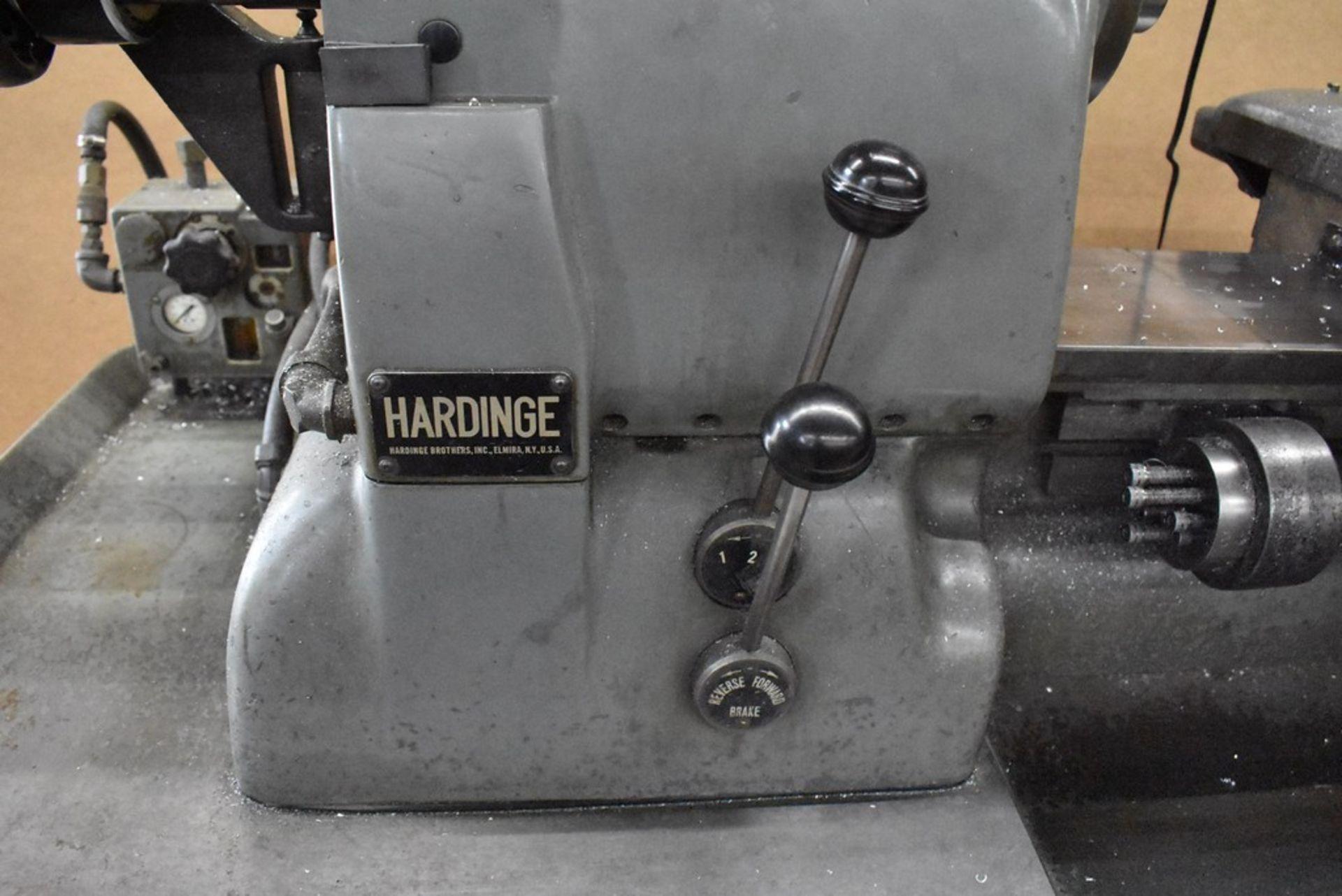 HARDINGE LATHE HCAT CABINET BASE LEADSCREW THREADING CHUCKER, S/N HC-2699G, WITH LEADSCREW THREADING - Image 22 of 25