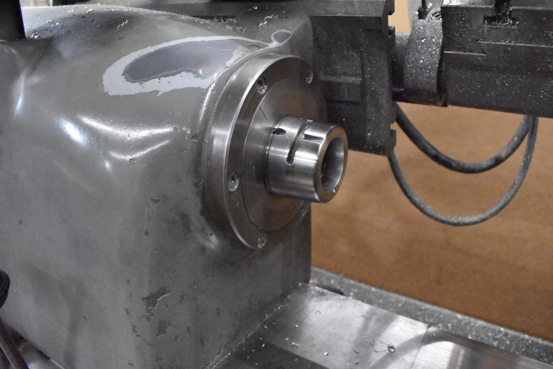 HARDINGE LATHE HCAT CABINET BASE LEADSCREW THREADING CHUCKER, S/N HC-2699G, WITH LEADSCREW THREADING - Image 11 of 25