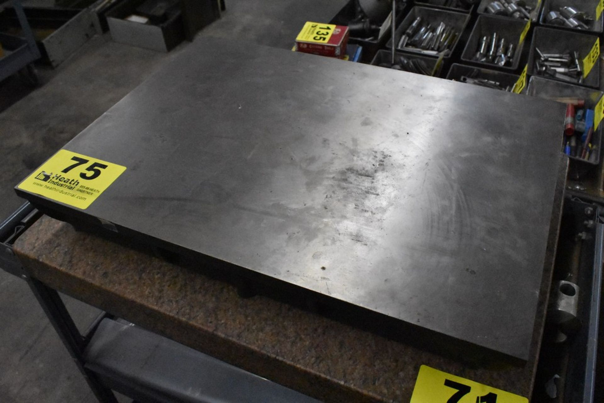 """16"""" X 22"""" CAST IRON SURFACE PLATE - Image 2 of 2"""