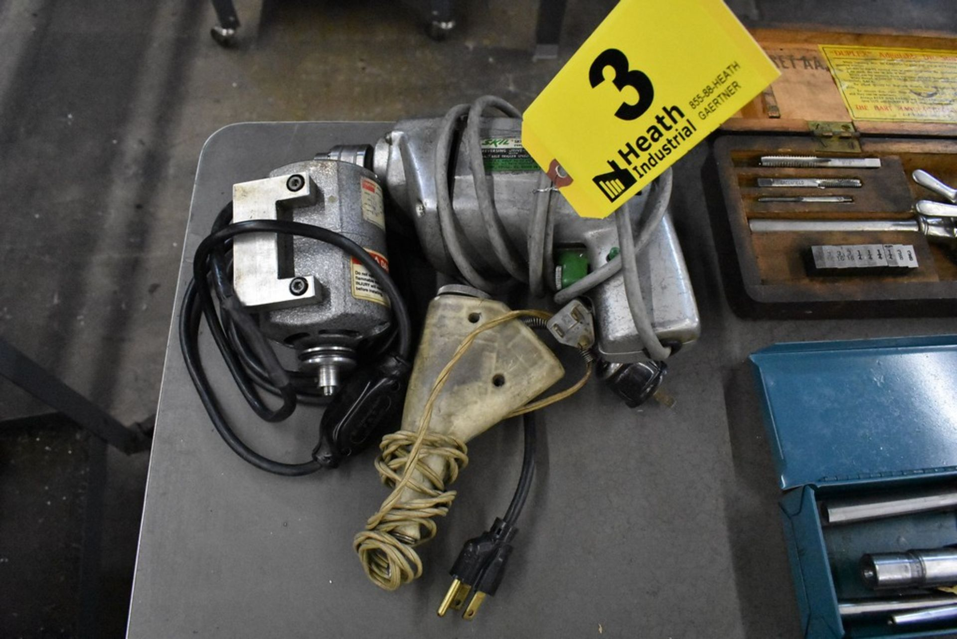 (3) ASSORTED ELECTRIC TOOLS