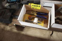KLEIN SHEET METAL CRIMPER, SHEET METAL NIBBLER MODEL 4T160A