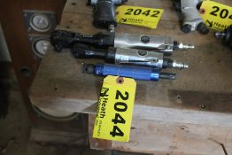 """(2) CENTRAL PNEUMATIC RATCHET WRENCHES 1/4"""" & 3/8"""" WITH 3/8"""" EXTENSION"""