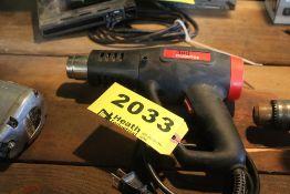 DRILL MASTER DUAL TEMPERATURE HEAT GUN, 1500 WATT
