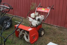 JACOBSEN 6 HP MODEL IMPERIAL 626 HEAVY DUTY 2 STAGE SNOW THROWER