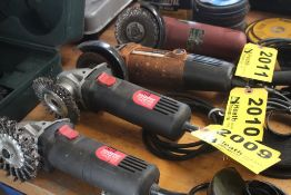 """DRILL MASTER 4-1/2"""" ANGLE GRINDER"""