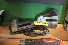 ELECTRIC & MANUAL STAPLE GUNS