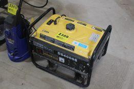 DUROSTAR MODEL DS4000S GAS POWERED GENERATOR