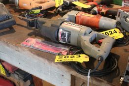 PORTER CABLE MODEL 738 TIGER SAW WITH EXTRA BLADES