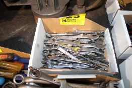 ASSORTED OPEN & CLOSED WRENCHES IN BOX