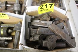 ASSORTED ARMSTRONG LATHE TOOLING IN BOX