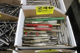 ASSORTED REAMERS IN BOX
