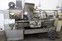 """LEBLOND 17""""X30"""" MODEL REGAL TOOL ROOM LATHE, S/N 2D509, 1500 RPM SPINDLE, WITH 10"""" 3'JAW CHUCK,"""