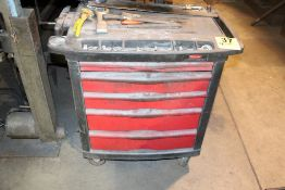 FIVE DRAWER PORTABLE TOOL BOX WITH CONTENTS