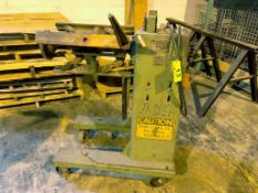 """COOPER WEYMOUTH 1,200 LB. STOCK UNCOILER, S/N A1200-18M-2004, 18"""" WIDTH,"""