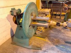 LITTELL 4,000 LB. MODEL 40-18 STOCK UNCOILERS, S/N S-1163-76-3, 15-20-18, WITH KEEPERS