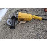 DeWalt angle head grinder w/cord.